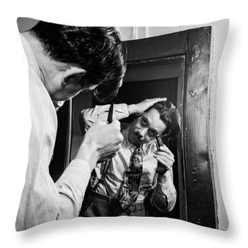 Music's Golden Era - Cab Calloway 1947 Throw Pillow by Mountain Dreams