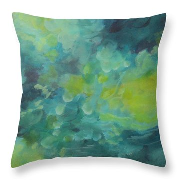 Musing 117 Throw Pillow