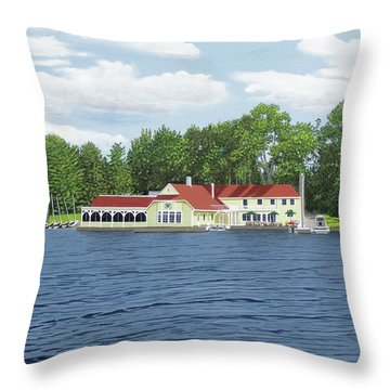 Muskoka Lakes Golf And Country Club Throw Pillow