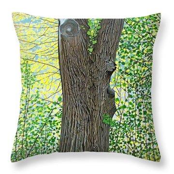 Muskoka Maple Throw Pillow