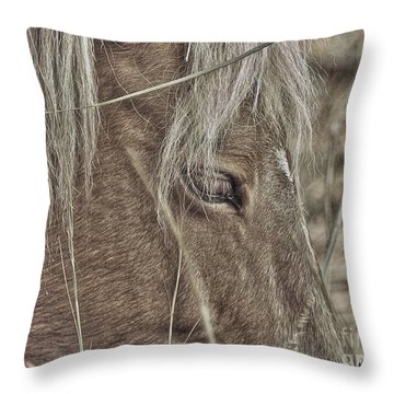 Mustango Throw Pillow