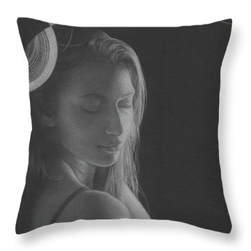 Muted Shadow No. 3 Throw Pillow
