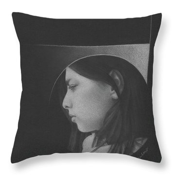 Muted Shadow No. 1 Throw Pillow