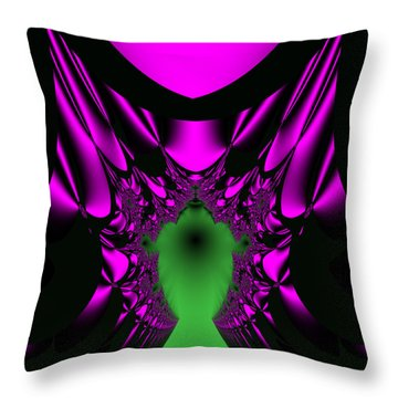 Mutenscran Throw Pillow