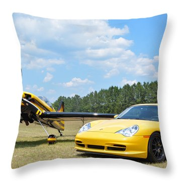 Mx2 And A Gt3 Throw Pillow