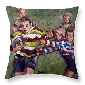 My Ball Throw Pillow