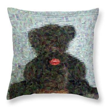 My Bear Throw Pillow