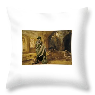 Throw Pillow featuring the photograph My Beloved Mum Chris by Colette V Hera Guggenheim