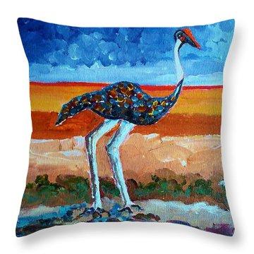 My Bird 2 Throw Pillow