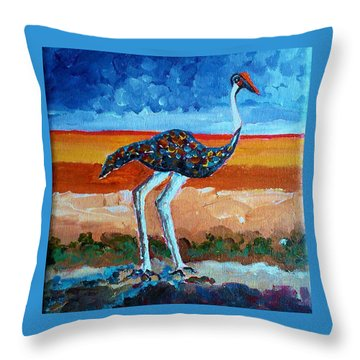 My Bird 2 Throw Pillow
