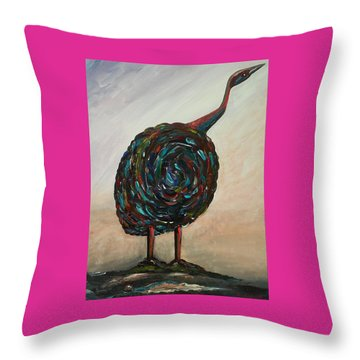 My Bird Throw Pillow