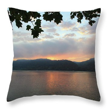 My Birthday Sunrise Throw Pillow