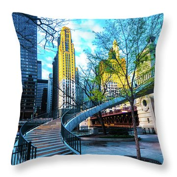 My Blue Chi Throw Pillow