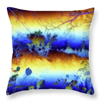 My Blue Heaven Throw Pillow