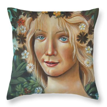 My Botticelli Throw Pillow
