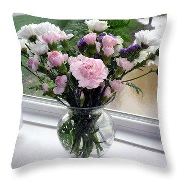 My Bouquet Throw Pillow