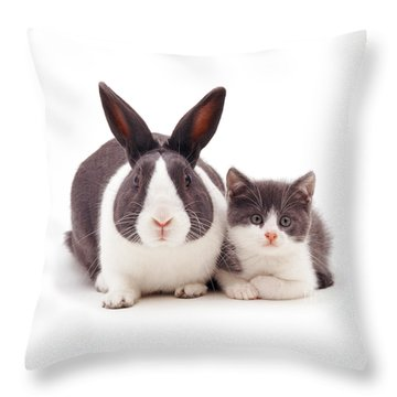 My Brother From Another Mother Throw Pillow