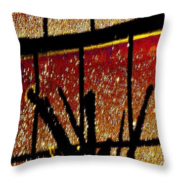My Brushes With Inspiration Throw Pillow