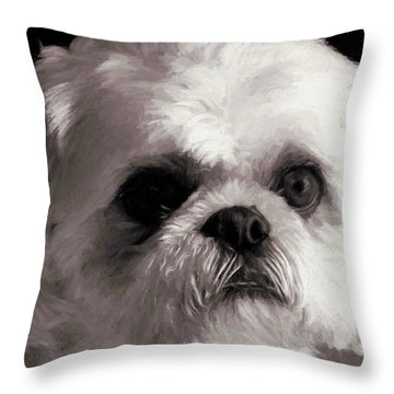My Bubba - Painting Throw Pillow