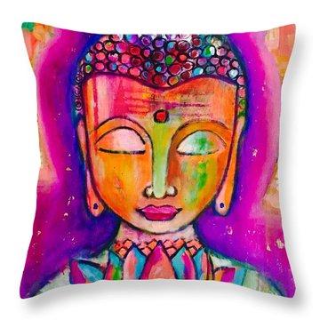 My Buddha  Throw Pillow