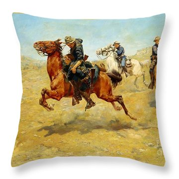 My Bunkie Throw Pillow by Pg Reproductions