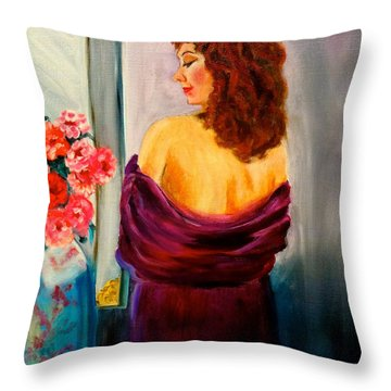 My Cherie Jenny Lee Discount Throw Pillow