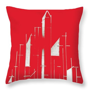 My City Throw Pillow