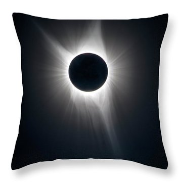 My Corona Throw Pillow
