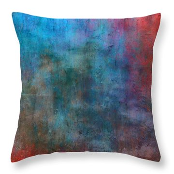 My Country Throw Pillow by Julie Niemela