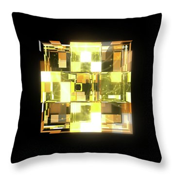 My Cubed Mind - Frame 019 Throw Pillow