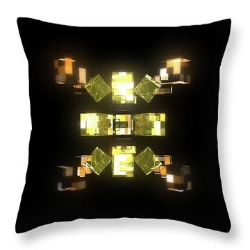 My Cubed Mind - Frame 085 Throw Pillow