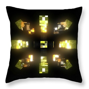 My Cubed Mind - Frame 172 Throw Pillow