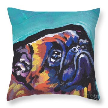 My Eyes Adore You Throw Pillow by Lea S