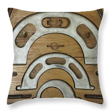 My Fathers Tools Throw Pillow