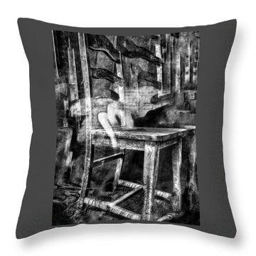 Throw Pillow featuring the digital art My Favorite Chair 2 by Delight Worthyn