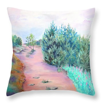 My Favourite Place II Throw Pillow