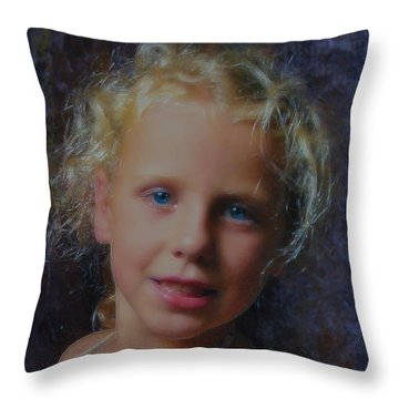 My February Gift Throw Pillow