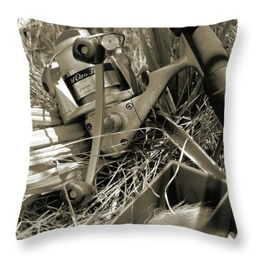 Throw Pillow featuring the photograph My Fenwick by Scott Kingery