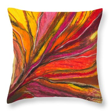 My Fever Burns Throw Pillow