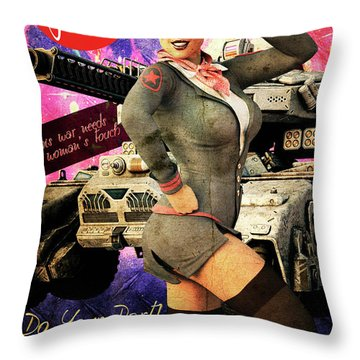 My Fight Too Throw Pillow