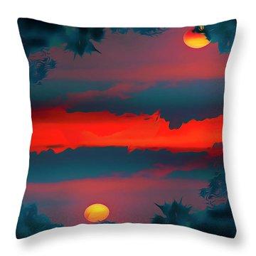 My First Sunset- Throw Pillow