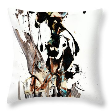 My Form Of Jazz Series 10062.102909 Throw Pillow