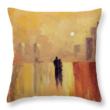 My Friend My Lover Throw Pillow