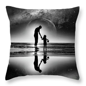 My Future Throw Pillow by Kevin Cable