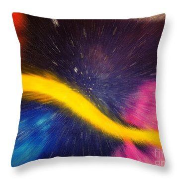 My Galaxy Too Throw Pillow