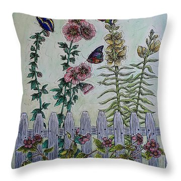 My Garden Throw Pillow