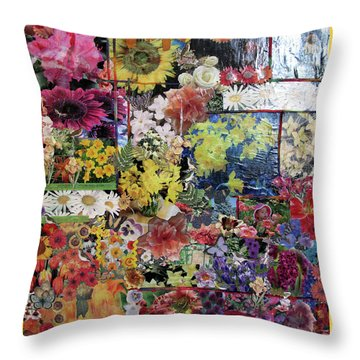 My Garden Throw Pillow