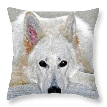 My Girl Throw Pillow