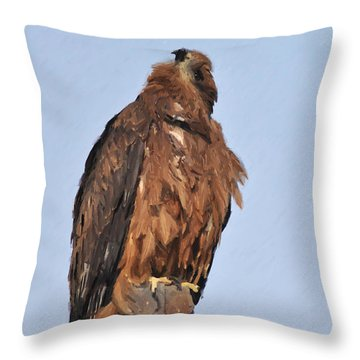 My God Lives There Throw Pillow
