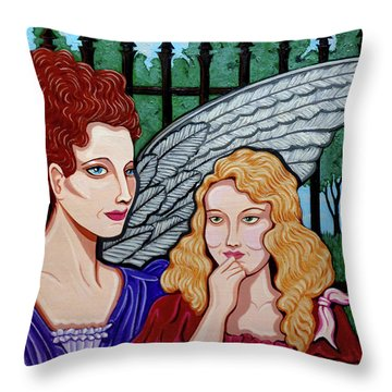 My Guardian Angel Throw Pillow